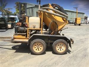 trailer-excavator